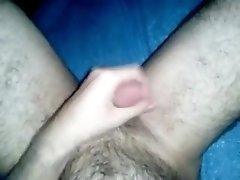 Hairy cub stroking again!