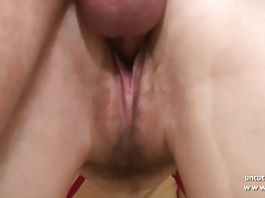 Pretty amateur french brunette fisted analyzed w cum 2mouth