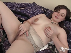 Hot Dawn Masturbating Her Snatch