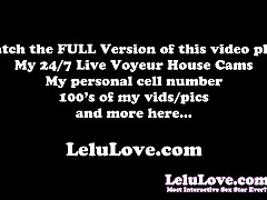 Lelu Love-POV BJ Creampie CFNM Stockings Gloves Boots