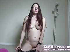 Lelu Love-Riding Sybian Dildo BIG Orgasms