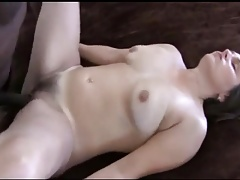 Gorgeous swinger wife creams a BBC