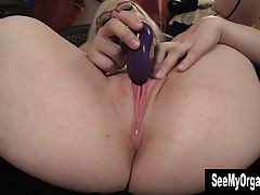 Curvy Ruby Masturbating