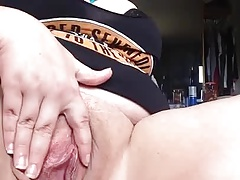 Close Up HD View Phat Pink BBW Pussy